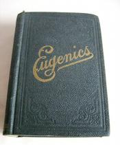 "Black book titled ""Eugenics"""