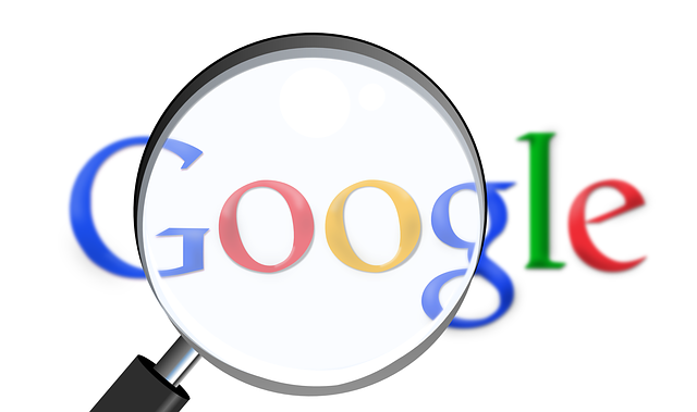 The online search engine, Google icon appears, with a magnifying glass.