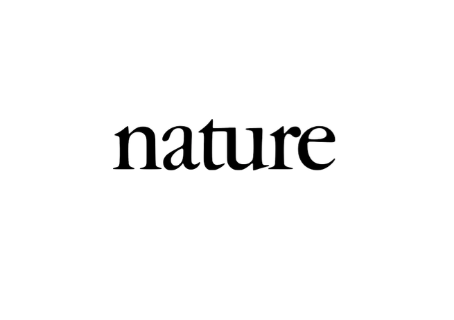 logo for the journal nature