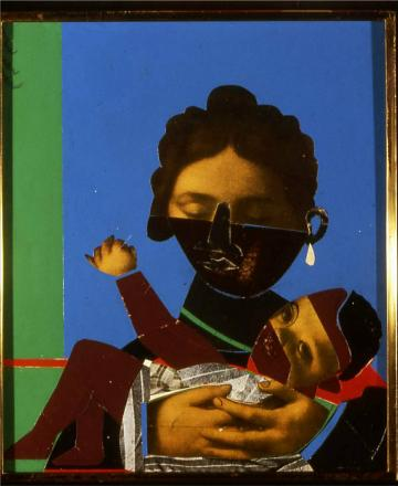 Romare Bearden Mother and Child, 1971
