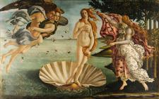 The Birth of Venus by Sandro Botticelli, 1480s