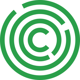 Google Calico logo, a green C surrounded by green concentric circles.