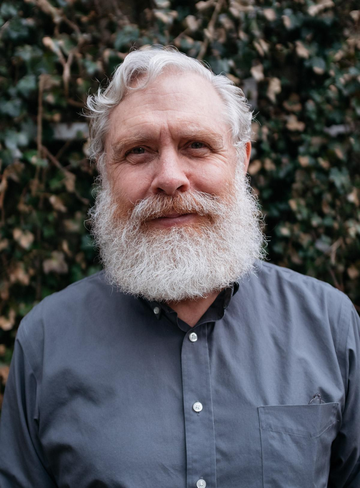George Church - white man with white hair and large white beard