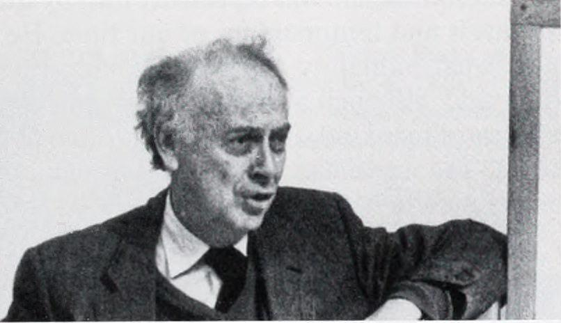 Old black and white photograph of young James Watson